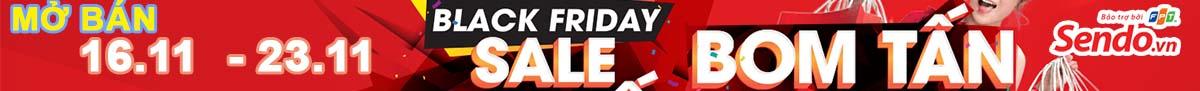 Black Friday - Bom tấn Sales tại sendo