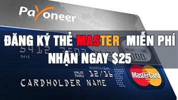 Đăng ký miễn phí thẻ Master Quốc tế - Bank Quốc Tế