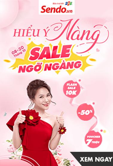 Giảm giá lớn - Sale ngỡ ngàng tại Sendo.vn