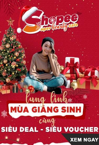Lễ hội mua sắm giảm giá giáng sinh tại shopee.vn