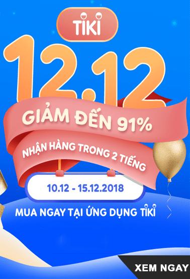 Lễ hội mua sắm giảm giá cuối năm 12.12.2018