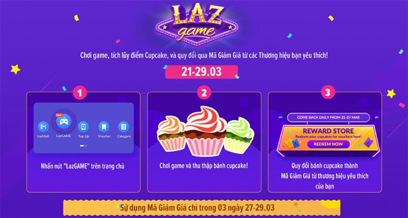 Săn Bánh CUP CAKE đổi Mã Giảm Giá lên tới 7 triệu đồng