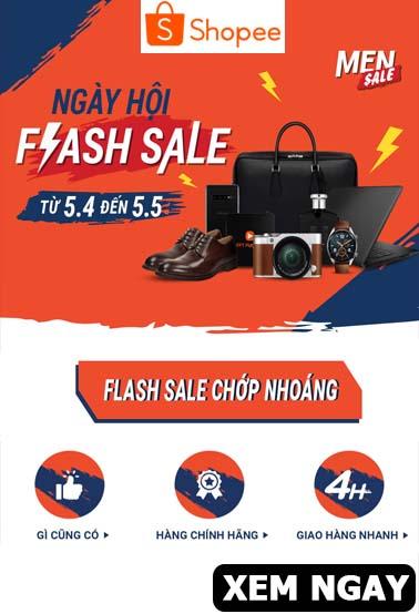 Ngày hội Flash Sale tại Shopee