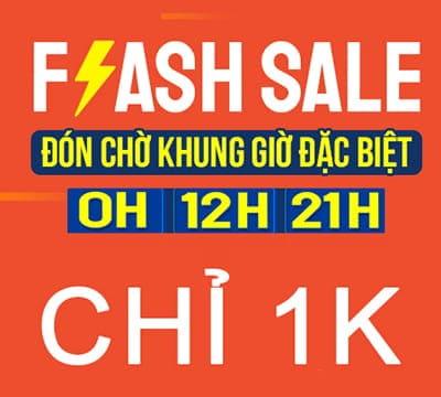 Flash Sale Giá chỉ 1k