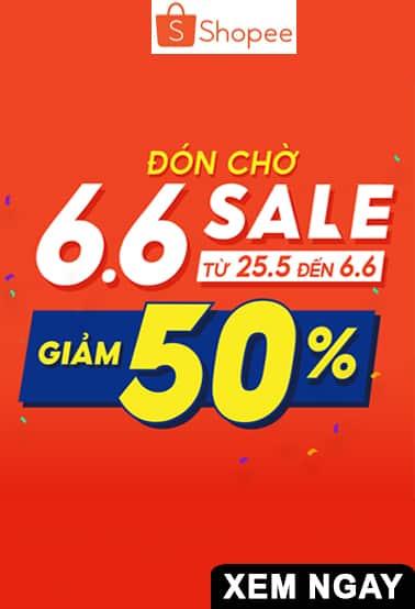 SALE giảm giá tới 50% từ 25/6 đến 6/6