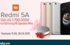 """""""Xiaomi Redmi 5A – Trở lại giá 1.790.000 Đ"""" Không đâu rẻ hơn!!"""