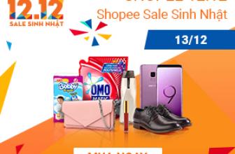 ✅ shopee ✅ 12.12 Thank You Sale – Khuyến mại cực sốc