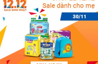 ✅ shopee ✅ 12.12 Sale dành cho Mẹ