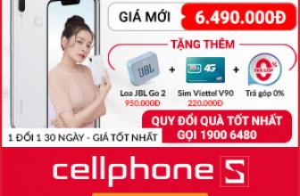🎁 Giảm 500k khi mua Huawei Nova 3i 🎁