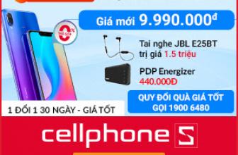🎁 Cuối tuần: Giảm 2.000.000 khi mua Huawei Nova 3 + Tặng thêm Pin Energizer UE10022 🎁