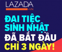 Khuyến Mại Lazada Sinh Nhật lần thứ 6 Có Gì HOT ?