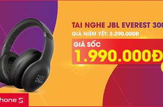 🎁 Ưu đãi khi mua tai nghe JBL Everest 300 đen 🎁