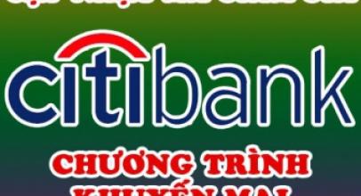 [CitiBank] Mã giảm giá & Khuyến Mại