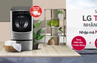 🎁 Sắm máy giặt LG TWIN WASH – Nhận quà đỉnh cao 🎁