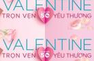 Khuyến mại Valentine's Day 14/2 năm 2018