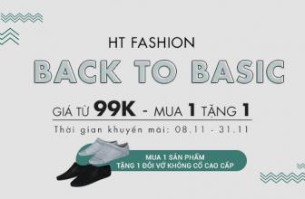 🎁 Thời trang nam HT Fashion khuyến mãi giá sốc từ 99K +  mua 1 tặng 1 🎁